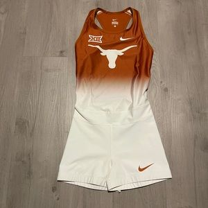 Nike Pro Elite Texas Longhorns Unitard Speedsuit